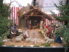 Krippe, Nürnberger Christkindlesmarkt