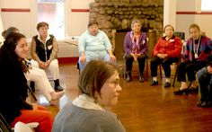 Spanish-speaking caregiver's retreat: Discussion circle; getting to know each other