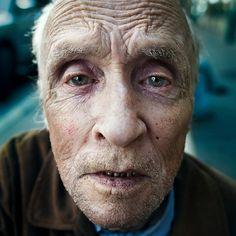 A stranger: plaza st-hubert: George Bolduc 78 years old. by Benoit.P, via Flickr