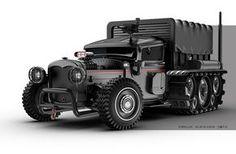 ARRAKIS ARMORED CAR by Jomar Machado   Transport   3D   CGSociety