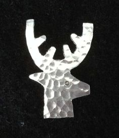 Stag lapel pin. by wwwmadebycaroline on Etsy