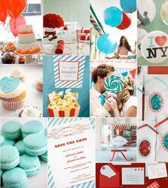 #blue #wedding #ideas Classic color combo.