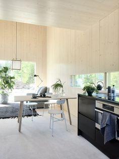 Cottage Interiors, Office Interiors, Minimalist Interior, Modern Interior Design, Rue Verte, Living Styles, Home Kitchens, Architecture, Sweet Home