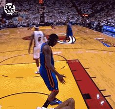 I shouldn't have laughed as hard at this GIF as I did, but I couldn't help it. This is so basketball. -E