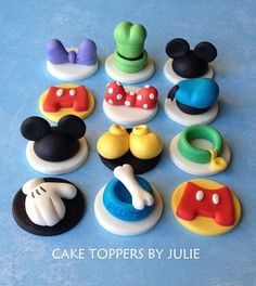 Mickey Mouse Birthday Cupcakes - Contact Hyderabad Cupcakes to order! Disney Cupcakes, Mickey Mouse Cupcakes, Mickey Cakes, Mickey Mouse Parties, Disney Parties, Minnie Mouse, Party Cupcakes, Birthday Cupcakes, Cookies Cupcake