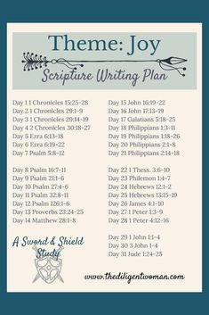 2019 Scripture Writing Plan - Theme: Women of the Bible Studying the Women of the Bible is a wonderful way to learn how to be a godly woman yourself! Join us for 31 days of learning from the women God chose to share with us in the scriptures. Bible Study Plans, Bible Plan, Bible Study Journal, Scripture Journal, Bible Reading Plans, Devotional Journal, Forgiveness Scriptures, Bible Scriptures, Bible Quotes