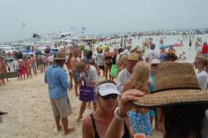 The stranded naked beach party in abaco