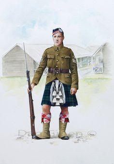 British; Argyll and Sutherland Highlander c.1915
