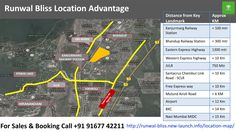 Runwal Bliss Location Advantage  For Sales & Booking Call +91 91677 42211  To know more visit - http://runwal-bliss.new-launch.info/location-map/