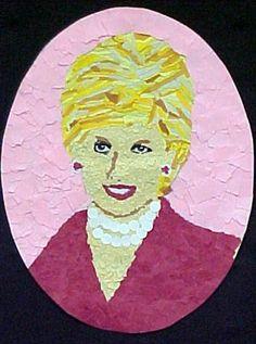 Princess Di by Diana, grade 5 (Art Teacher Donna Staten)