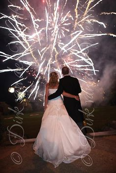 FIREWORKS AT SLALEY HALL IN NORTHUMBERLAND FOR SHARON AND MARTIN'S WEDDING