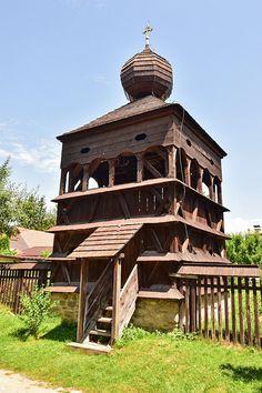 Hronsek, Slovakia (Wooden Bell Tower)