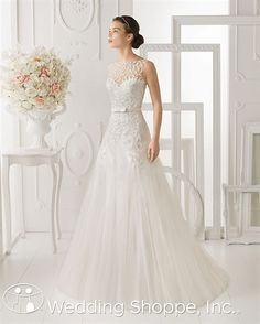 Aire Barcelona Bridal Gown Ohio