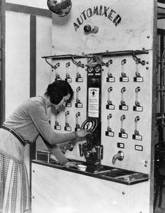 1930s Cocktail vending machine