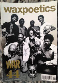 WAX POETICS #44 War Syl Johnson Budos Band Al Kooper DJ Muggs Claus Ogerman