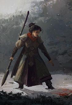 Image result for spear maiden art