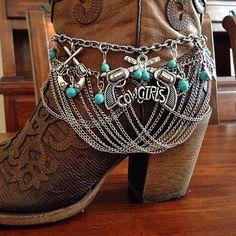 Boot Bracelet by DorysBoutique, $45.00 / Rustic