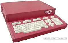 Goupil was the old French word for fox (renard). The Goupil was designed to be modular. It could be used as a home computer but its maim purpose was to be used in French schools in connection with other computers, or as a small server thanks to its built-in 300-baud modem.