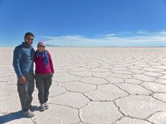 The white of the Salar