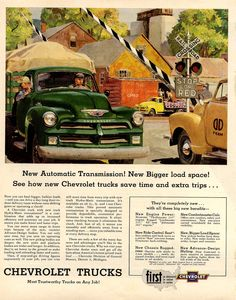 New Automatic Transmission New Chevrolet Trucks, Chevy Trucks Older, Dodge Trucks, New Trucks, Custom Trucks, Cool Trucks, Chevrolet 3100, Truck Art, Car Advertising