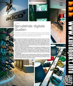 Bericht über K.U.L.T.OBJEKT-Projekt ADCO in Freiburg bei Sport+Mode / Juni 2013