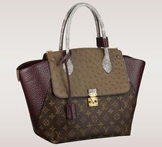 Louis Vuitton Updates Its Monogram Bags with Exotic Trim - PurseBlog