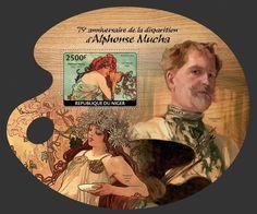 """NIG 14119 bAlphonse Mucha (""""Summer"""" 1896)"""