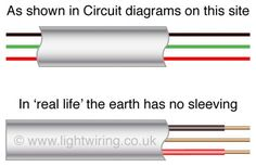 wiring diagram lighting circuit uk 7 pin flat trailer 17 best u k diagrams images ceiling rose types of new cable colours harmonised light 28 a how to wire 20 electical