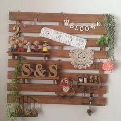 絶対真似できる♡100均で「すのこ」DIY活用術 - Locari(ロカリ) Diy Interior, Best Interior, Interior Goods, Home Organisation, Cozy House, Wood Pallets, Diy And Crafts, Upcycle, Layout