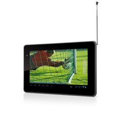 Tablet Multilaser Tab TV - Android 4.0, Processador 1.2GHz, 4GB, 0.3MP, TV Digital, Tela 7´´ - NB046