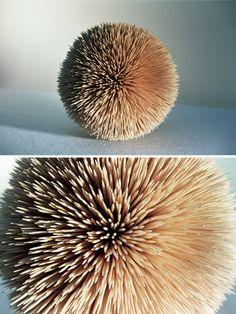// ROWAN MERSH, WOOD WORKS 2005: ultra hedgehog.