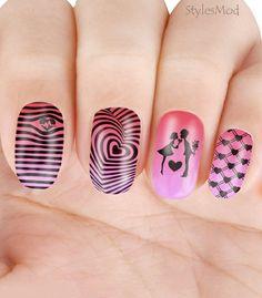 Cute Nail Art, Cute Nails, Elegant Nails, Nail Trends, Rock Style, Trendy Nails, Coffin Nails, Summer Nails, Hair And Nails