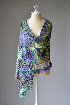 Guadalupe Stole ~ free pattern ᛡ