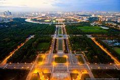 Москва воробьевы горы смотровая площадка