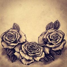 I'm going to get this; three roses representing me and my brothers