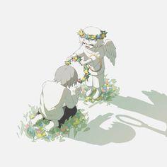 Dark Art Illustrations, Illustration Art, Manga Art, Anime Art, Sun Projects, Vent Art, Arte Obscura, Ange Demon, Image Manga