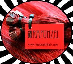 Get a red #reflection in your #hair… ❤️ // #Rapunzel ile saçlarınızda# kırmızı yansımalar elde edebilirsiniz. 💋 #rapunzelhair #redhair #hypnosis #kaynaksaç #hairextensions #coiffeur #haircolor #unique