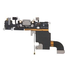 [USD10.32] [EUR9.73] [GBP7.58] iPartsBuy Charging Port Flex Cable Replacement for iPhone 6S(Grey)