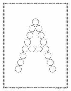 Lots of Dots: Alphabet Tracing Sheets - Jennifer Hier - TeachersPayTeachers.com