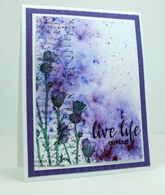 IC497, Love Life by k dunbrook - Cards and Paper Crafts at Splitcoaststampers