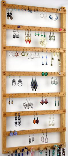 126 Pair Hanging Earring Holder Jewelry by TomsEarringHolders