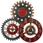 Another wall clock art idea