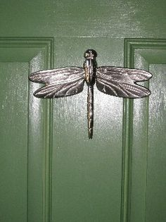 Marvelous MH1013 Dragonfly Door Knocker By Michael Healy