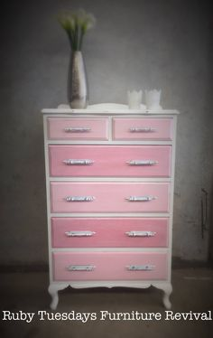 Queen Anne Vintage Drawers
