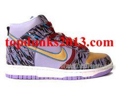 Custom TTK Triggerfish High Top Nike Dunk Online Sale