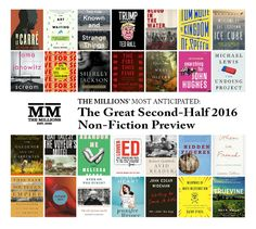 Most Anticipated, Too: The Great Second-Half 2016 Nonfiction Book Preview - The Millions