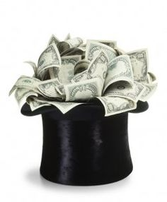 Centerpiece for a Money Theme Party?!?