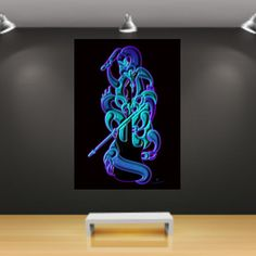 Jammin' Canvas Art Prints, Wrapped Canvas, Neon Signs, Deco, Frame, Decor, Deko, Decorating, Frames