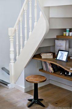 Amnager un petit espace sous escalier sympa Salons Small