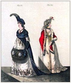 Mourning dresses. February 1797